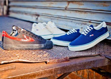 Shop Classic Canvas Sneakers by Warrior