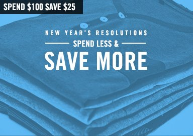 Shop Resolution: Spend Less, Save More