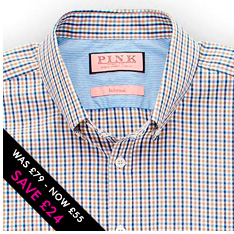 Trinity Check Shirt - Informal - Was £79 - Now £55