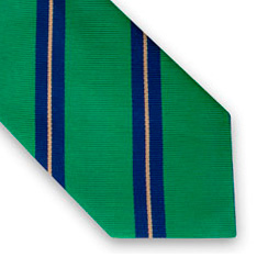 Cole Stripe Woven Tie - Was £59 - Now £45