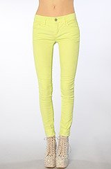 The Skinny Cord in Neon Lime