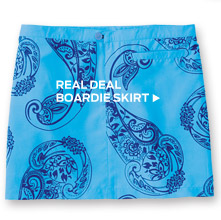 Real Deal Boardie Skirt ›