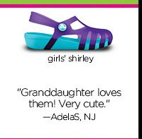 "girls' shirley - ""Granddaughter loves them! Very cute."" - AdelaS, NJ"