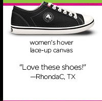 "women's hover lace-up canvas - ""Love these shoes!"" - RhondaC, TX"
