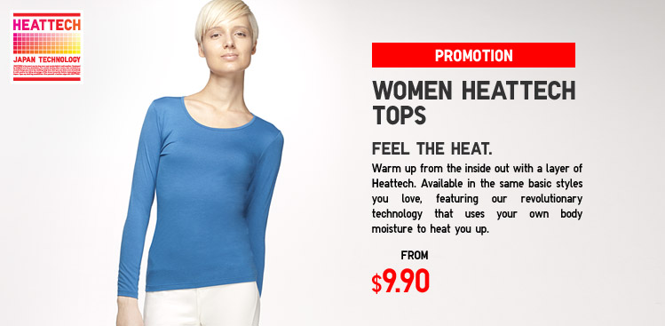 WOMEN HEATTECH TOP