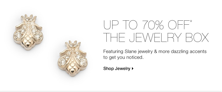 Up To 70% Off* The Jewelry Box