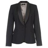 Paul Smith Jackets - Black Tuxedo Collar Jacket