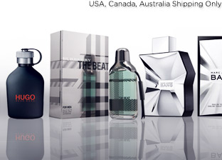 Men's Fragrances: Burberry, Marc Jacobs, Hugo Boss