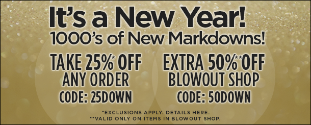 1000s of New Markdowns