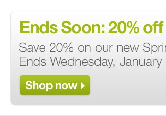 Ends Soon: 20% off New Pillows