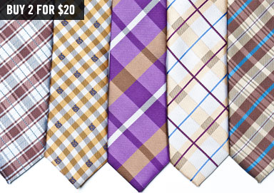 Shop The Trend: Skinny Ties