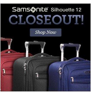 Samsonite Silhouette 12 CLOSEOUT