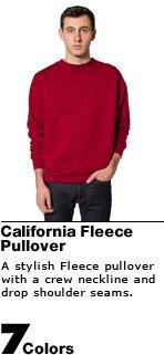 California Fleece Pullover