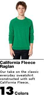 California Fleece Raglan