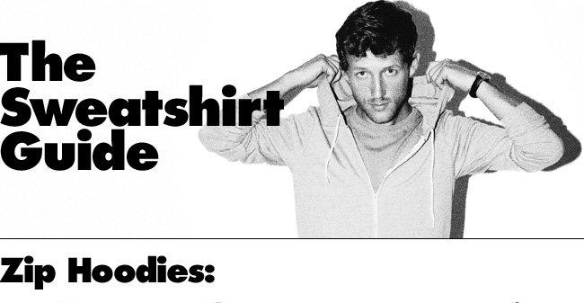The Sweatshirt Guide
