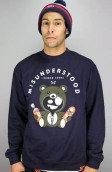 <b>Entree</b><br />Entree Lifestyle Misunderstood Teddy Bear Navy Sweater