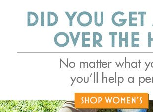 Did you get a gift card over the holidays? Shop Women's