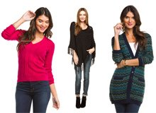 On the Cold Front The Women's Sweater Sale