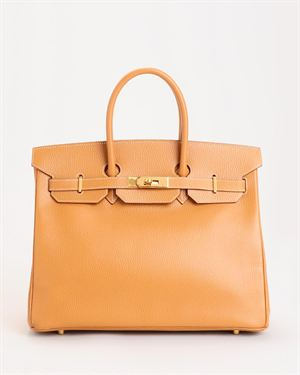 Hermes LN Birkin 35cm Togo Leather Handbag