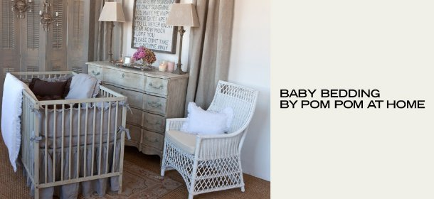 BABY BEDDING BY POM POM AT HOME, Event Ends January 9, 9:00 AM PT >
