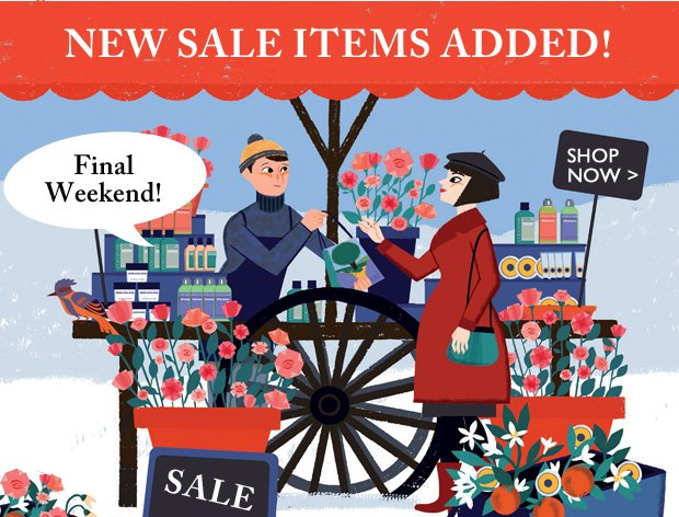 NEW Sale Items Added!