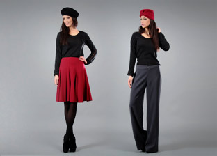 Eva Tralala Women's Apparel. Made in France