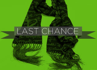 Last Chance Designer Scarves Blowout