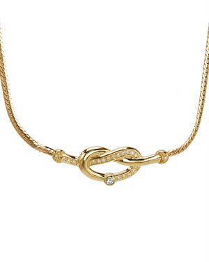 Mikimoto LN 18K Gold Diamond Necklace $1,199