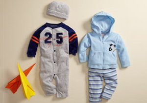 Baby Boy Sets & Coveralls:  $10 & Up