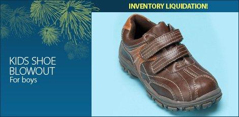 Kids Shoe Blowout