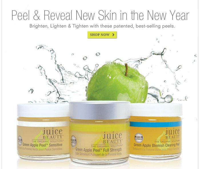 Peel & Reveal New Skin in the New Year