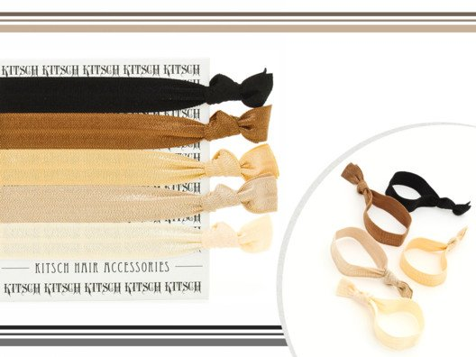 Kitsch Hair Tie (Set of 3) from Molly Sims