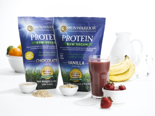 Sunwarrior Protein Powder from Gina Harney