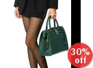 Zecchino - Genuine Leather Padlock Doctor Bag