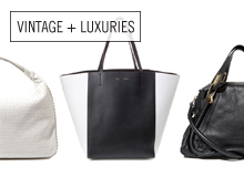 In Black and White Bags by CÉLINE, Gucci, & More