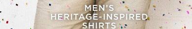 Men's Heritage-Inspired Shirts