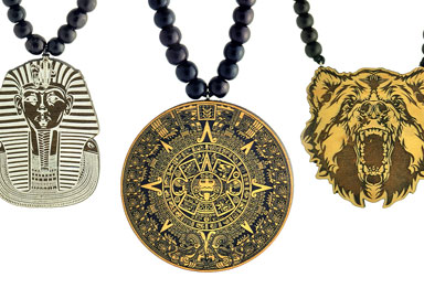 Shop Wood Pendant Necklaces & More