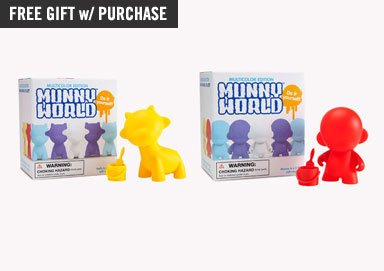 Shop Kidrobot Toys ft. MUNNYWORLD