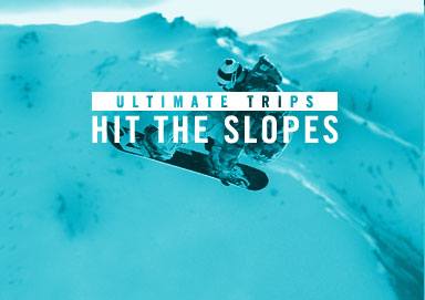 Shop Ultimate Trips: Hit the Slopes