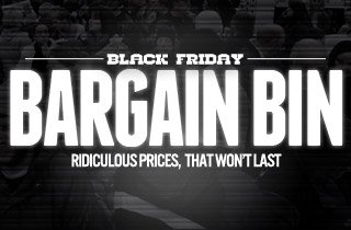 Black Friday Bargain Bin