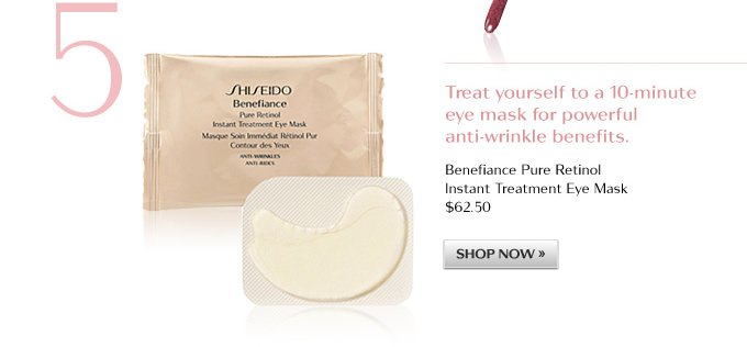 BENEFIANCE Pure Retinol Instant Treatment Eye Mask