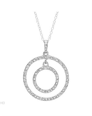 Ladies Necklace Designed In 925 Sterling Silver