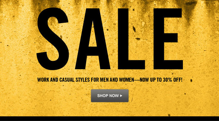 Sale Work and Casual Styles for Men and Women - now up to 30% off! Shop Now