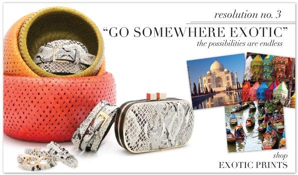 Go Somewhere Exotic