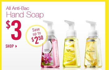 All Anti–Bac Hand Soap – $3