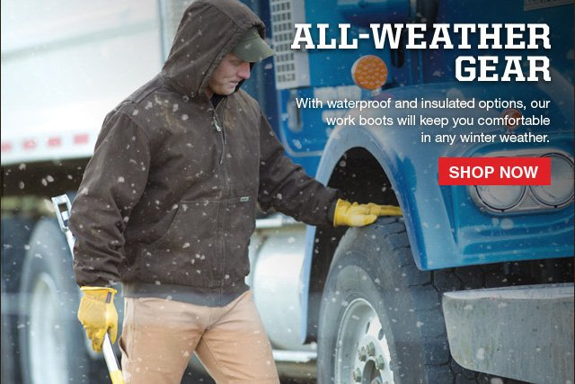 All-Weather Gear Shop Now