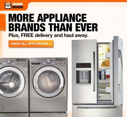 New! More appliance brands than ever.