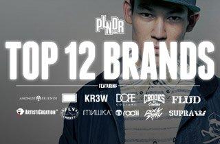PLNDR's Top 12 Brands