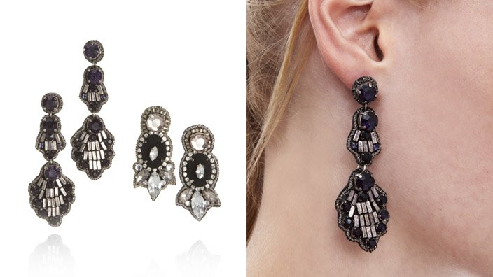 These earrings are perfect for nights on the town! Both styles are gorgeous, but what's even better is that they are amazingly lightweight and comfortable to wear!