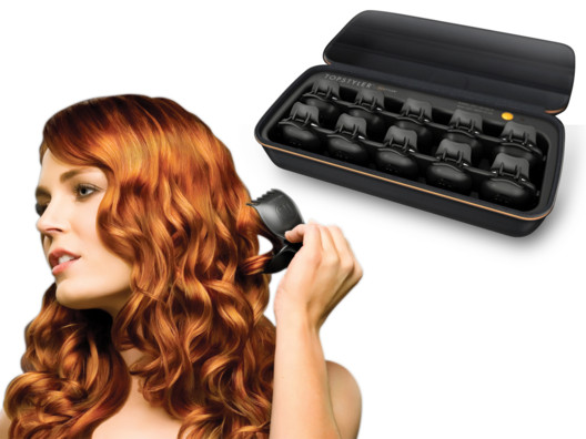 Create natural looking curls and waves with these heated styling shells.